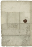 Letter signed from Robert Devereux, Earl of Essex, to Mr. Skinner, Auditor of the Receipt of the Exchequer