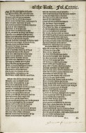 The workes of Geffrey Chaucer, newlie printed, with diuers addicions, whiche were neuer in print before…