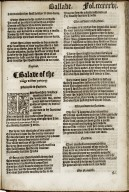 The workes of Geffrey Chaucer, newlie printed, with diuers addicions, whiche were neuer in print before...