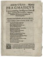 Mercurius pragmaticvs.