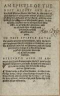 [Ad carolum Cesarem Augustum epistola. English]