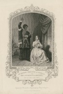 Mr. George Bennett as Othello and Miss Jane Bennett as Desdemona ... act 4, sc. 2 [graphic] / engraved by T. Sherratt, from a daguerreotype by Paine of Islington.