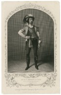 Mr. G.V. Brooke as Iago ... [graphic] / engraved by T. Sherratt, from a daguerreotype by Fitzgibbon of St. Louis, U.S.