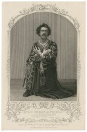Mr. G. V. Brooke as Othello ... [graphic] / engraved by T. Hollis, from a daguerreotype by Fitzgibbon of St. Louis, U. S.