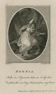 Hermia: Help me Lysander ... Midsummer night's dream, act II, scene 3 [i.e. 2] [graphic] / H. Singleton del. ; C. Taylor sculpt. excudit.