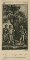 Midsummers night dream, act III, scene II [i.e. 1]: O' Bottom thou art chang'd [graphic] / E. Edwards, del. ; J. Hall, sculp.