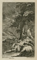[Midsummer night's dream, act III, sc. 2] [graphic] / H. Gravelot in ; G. V.dr Gucht Scul.