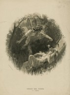 Oberon and Titania [Midsummer night's dream, act II, sc. 2] [graphic] / by G. Ferrier.