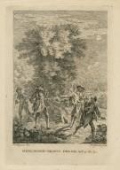 Midsummer night's dream, act 3, sc. 2 [i.e. 1] [graphic] / F. Hayman inv. ; H. Gravelot sculp.
