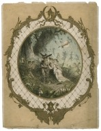 [Midsummer night's dream, act IV, sc. 1, Titania and Bottom [graphic] / W. Brandard.