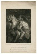 Midsummer night's dream, Obe.: Now, my Titania, wake you, my sweet queen, act 4, scene 1 [graphic] / [Thomas Stothard] ; engraved by J. Heath.
