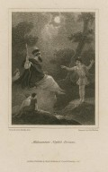Midsummer night's dream, act 3, sc. 2 [graphic] / painted by R. Smirke, R.A. ; engraved by Edw. Finden.