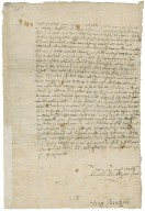 Letter from Henry Cavendish, Coldharbour (Coleherbert), London, to Elizabeth Hardwick Talbot, Countess of Shrewsbury