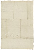 Letter from George Talbot, Earl of Shrewsbury, Sheffield, to Avery Copley
