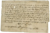 Copy of memorandum of a lease for 5 years to Master Pelle, 1333