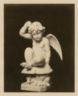 [Photograph of a statue of Puck] [graphic].