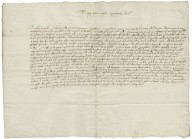 Copy of petition from the tenants adjoining the royal forest of the Peak, Derbyshire, to Elizabeth I, Queen of England, August 13, 1575