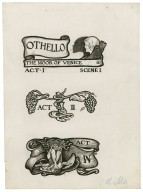 Othello, a set of eight original drawings [graphic] / [Byam Shaw].
