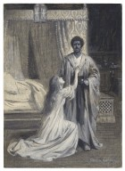 [Othello, V, 2, at the Shaftesbury Theatre, Tita Brand (Desdemona), Hubert Carter (Othello)] [graphic] / Chas. A. Buchel.