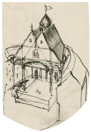 Elizabethan theater sketch