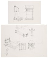 Design sketches for St. Georges Theatre