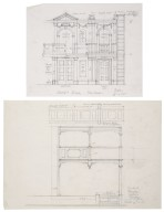Elevations for a reconstruction of the interior of the Cockpit Playhouse