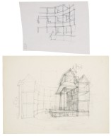 Interior sketches for Globe reconstruction