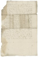Letter from unidentified correspondent to unidentified recipient