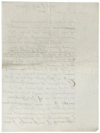 Letter from Sir Edward Bagot to Lady Catherine Shirley