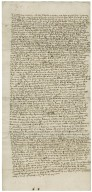 Arbitration between William Abbot of Burton-upon-Trent and Sir John Bagot : copy