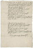 Accounts received for Elizabeth I, Queen of England