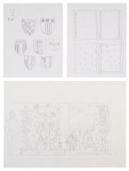 Sketches for curtains, St. Georges Theatre