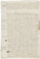 Letter from Philip Arundel to the lords lieutenants of Norfolk
