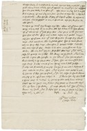 Letter from Nathaniel Bacon to Sir Henry Gawdy