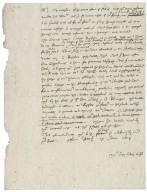 Letter from Nathaniel Bacon to Sir Edward Coke