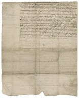 Agreement for one year between Charles Rich, hosier, and John Wells of St. Leonard's, Shoreditch, frame work knitter of stockings