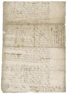 Articles of agreement between John Sheffeild of Navestock, Essex, and Sir Robert Rich