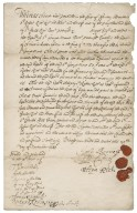 Consent by John Berners, Peter Civel and others to an agreement made by Sir Robert Rich with Colonel Digges, executor of the will of Sir George Moore