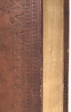Fore-edge and turn-in tooling (detail), STC 16613 c.4.