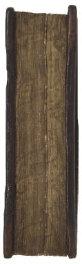 Gauffered fore-edge