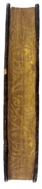 Fore-edge gilt and gauffered edge, Folio N7831 D8 F7 1503 Cage.