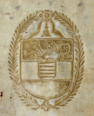 Coat of arms (detail), 170453.