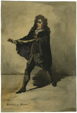 "Betterton as ""Hamlet"" [graphic]."