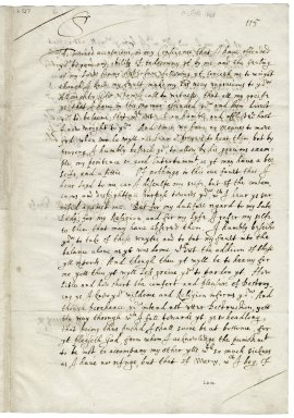 Autograph letter signed from John Donne, Fleet Prison, to Sir George More [manuscript], 1601/1602 February 11.