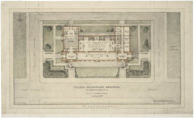 Architectural Drawing of Proposed Elevation: Main Floor Plan Scheme A
