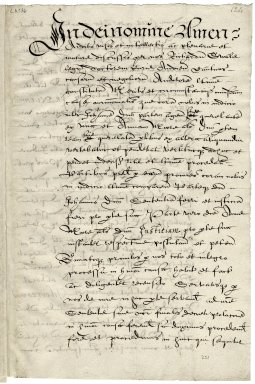 Decree of Richard Swale, Court of Audience, Canterbury, attesting to the validity of the marriage of John Donne and Anne More [manuscript], 1602 April 27.