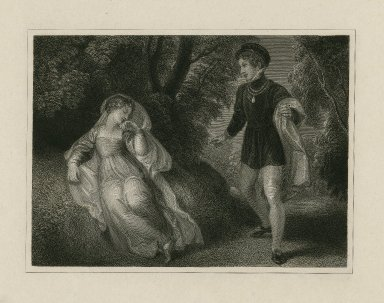 [Midsummer night's dream, act II, sc.2, Lysander and Hermia] [graphic].