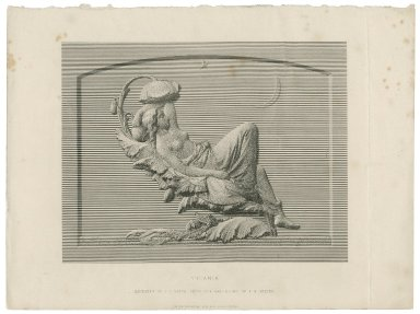 Titania [graphic] / engraved by J.H. Baker from the bas-relief by F. M. Miller.
