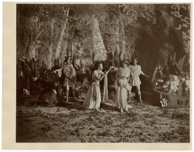[12 photographs of a production of A midsummer night's dream] [graphic] / Byron, N.Y.