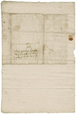 Letter from James Crompe, Chatsworth, to Lady Elizabeth St. Loe